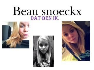 Beau  Snoeckx . Beau  snoeckx