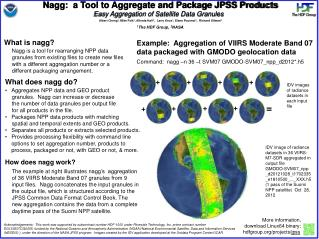Nagg:  a Tool to Aggregate and Package JPSS Products
