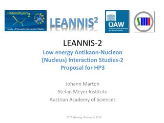 LEANNIS-2  Low energy Antikaon-Nucleon  (Nucleus) Interaction Studies-2 Proposal for HP3