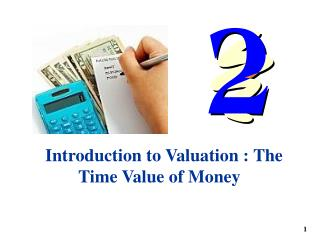 Introduction to Valuation : The Time Value of Money