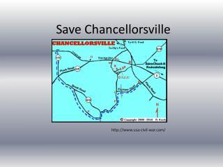 Save Chancellorsville