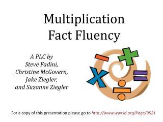 A PLC by  Steve  Fadini ,  Christine  McGovern,  Jake Ziegler, and Suzanne Ziegler