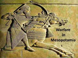 Warfare  in  Mesopotamia