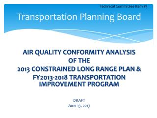 Transportation Planning Board