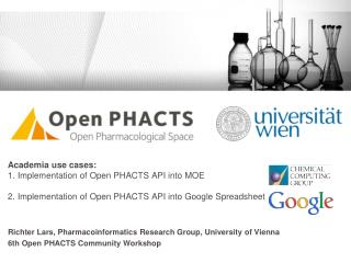 Richter  Lars, Pharmacoinformatics Research Group, University of Vienna
