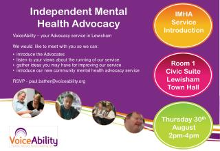 Independent Mental  Health Advocacy