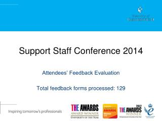 Support Staff Conference 2014
