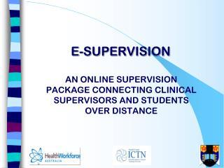 E-Supervision