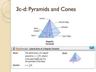 3c-d: Pyramids and Cones
