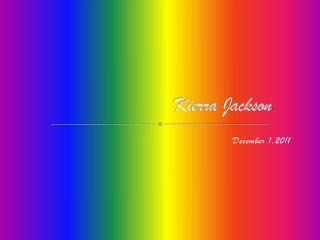 Kierra Jackson