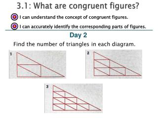 3.1: What are congruent figures?