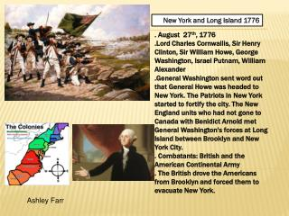 New York and Long  Island 1776