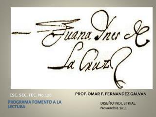 PROF. OMAR F. FERNÁNDEZ GALVÁN