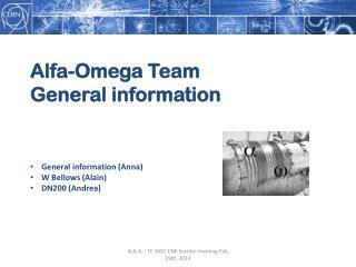 Alfa-Omega Team General information
