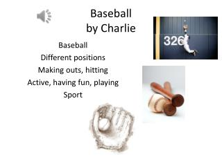 Baseball  by Charlie