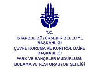 T.C. ISTANBUL B Y KSEHIR BELEDIYE BASKANLIGI  EVRE KORUMA VE KONTROL DAIRE BASKANLIGI PARK VE BAH ELER M D RL G  BUDAMA