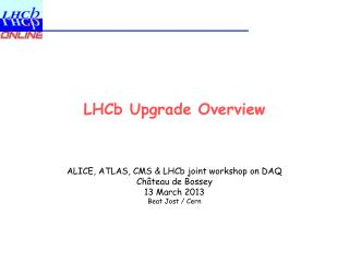 LHCb Upgrade Overview