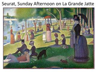 Seurat, Sunday Afternoon on La Grande  Jatte