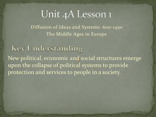 Unit 4A Lesson 1