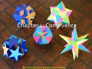 Chapter 4: Congruence