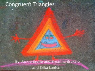 Congruent Triangles !