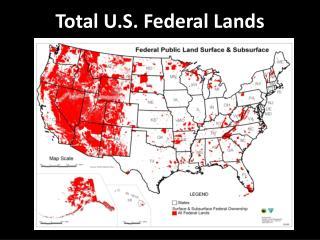 Total U.S. Federal Lands