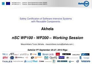 Akhela nSC WP100  - WP200  –  Working Session