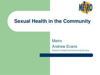 Sexual Health in the Community
