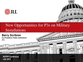 New Opportunities for P3s on Military Installations