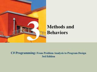 Methods and Behaviors