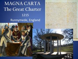 MAGNA CARTA The Great Charter