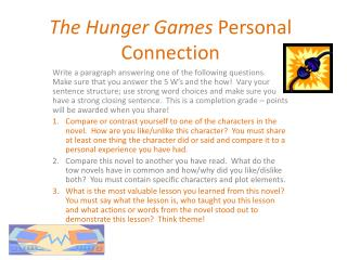 The Hunger Games  Personal Connection