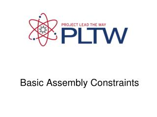 Basic Assembly Constraints