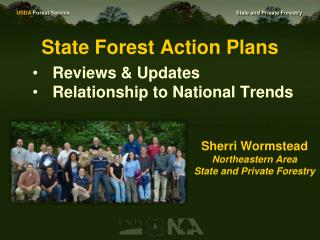 State Forest Action Plans