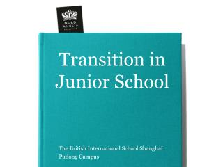Transition in  Junior School