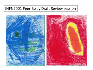 INFN2001 Peer Essay Draft Review session