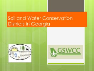 Soil  and Water Conservation  Districts in Georgia
