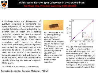 Multi-second Electron Spin Coherence in Ultra-pure  Silicon