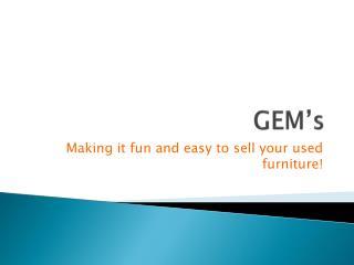 GEM's