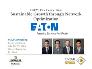 GSCMI Case Competition: Sustainable Growth through Network Optimization