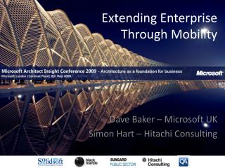 Extending Enterprise Through Mobility