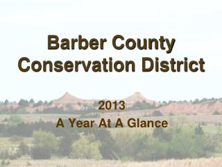 Barber County Conservation District