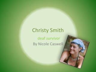Christy Smith
