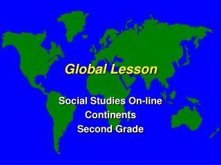 Global Lesson