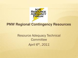 PNW Regional Contingency Resources