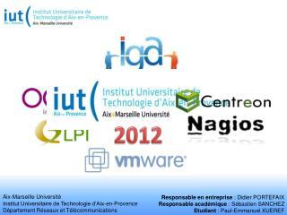 Aix-Marseille Université  Institut Universitaire de Technologie d'Aix-en-Provence