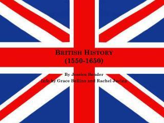 British History (1550-1650)
