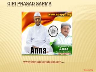Giri  Prasad  Sarma