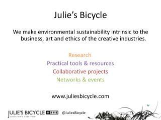 Julie's Bicycle