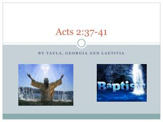 Acts 2:37-41